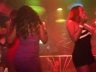 Chicas de fiesta urbanas: escena sexfest extraña 4