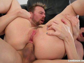 Liveangel dana dearmond is nuts for anal gapes