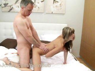 Danejones estrecha estrecha apretado orgasmo adolescente con el sexo anal profundo
