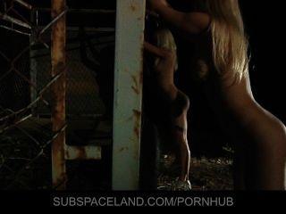 Erica fuentes y el zorro de Caroline atrapados en la esclavitud