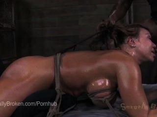 Ebony ana foxxx al revés, en esclavitud y cumming