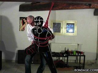 Francés shibari bondage cuerda cerbere claudiacuir bdsm