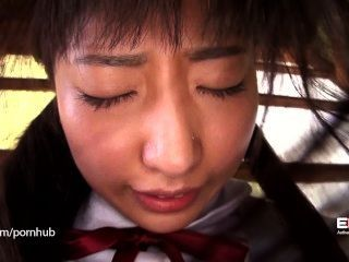 Erito chica de escuela tímida se abre
