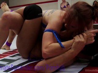Lucha sexual hardcore lesbian orgy