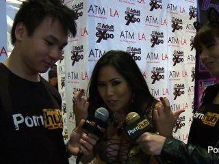 Pornhubtv jessica bangkok entrevista en 2014 avn premios