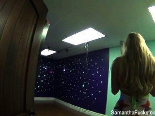 Samantha saint detrás de las escenas