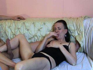 Aficionado joven pornstar tv show backstagetutorial euro nena sylvia chrystall