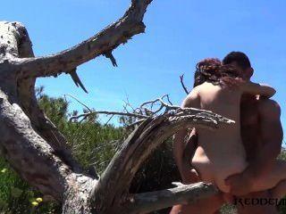 Debora y diego pareja española follando en la playa