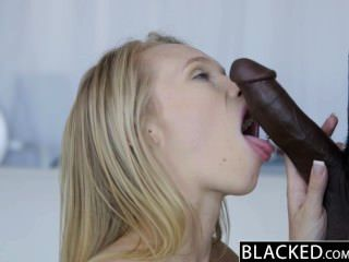 Blacked dakota james primera experiencia con gran polla negra