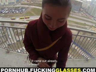 Puta gafas ardilla predice caliente sexo anal