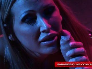 Películas paraíso mandy brillante con su esclavo sexual