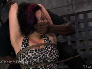 Estricta sujeción por cuerda y castigo corporal