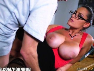 Brazzers hot milf profesor jane se follan