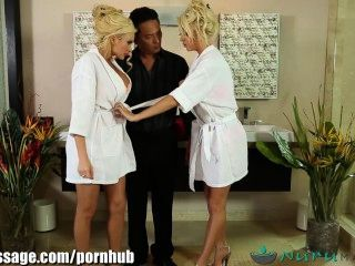 Nurumassage takuo masaje erótico threesome
