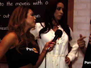 Pornhubtv monique alexander entrevista en 2015 avn premios