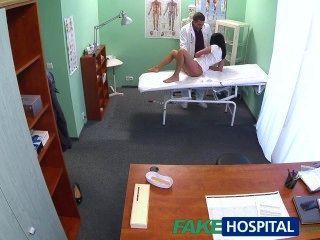 Fakehospital, caliente, negro, pelo, madre, engaña, esposo, doctor