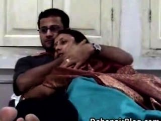 Pareja casada india sexo casero