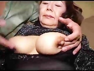 Fantástica asiática abuelita