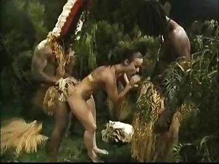 Africanos chicos follando una perra blanca