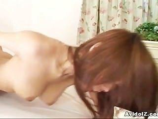 Busty japanese haruka sanada jodido duro