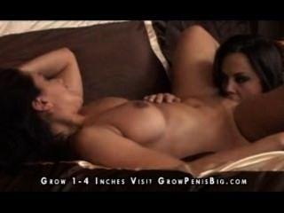 Acción lesbiana caliente