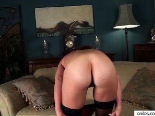 Pelirroja primer video sexy