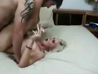Rubia, fetiche, sexo, escena completa
