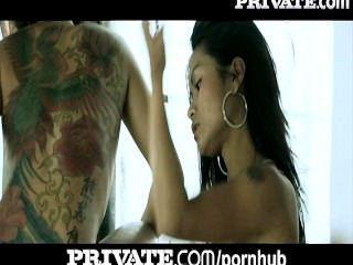 Privado: anal asiático tatuado adolescentes en baño threesome!