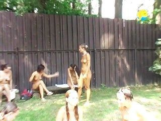 Salvaje bikini sexo fiesta puta carga