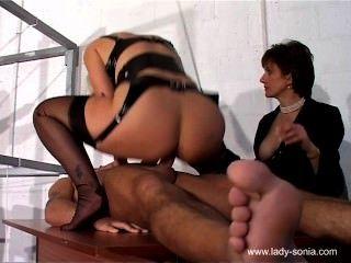 Sala de tratamiento de esclavos sexuales