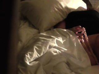 Cámara oculta cogido masturbación hotell habitación