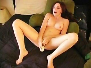 Tabetha con vibrador