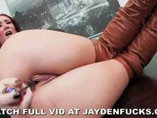 Jayden jaymes es travieso en la oficina