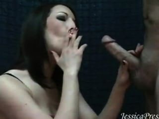Jessica amazing smokey bj