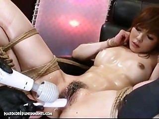 Japonés bondage sexo extremo bdsm castigo de ayumi
