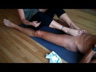 El pie de yoga