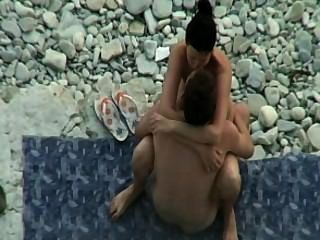 Sexo de la playa amateur # 01