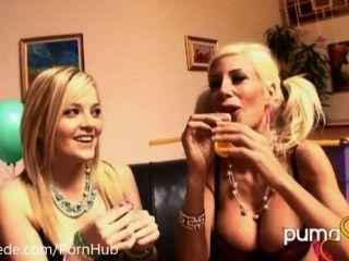 Globos y lesbianas!Puma sueco y alexis texas!