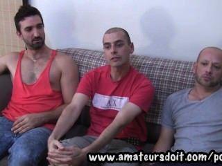 Conocer a marco sam y lucas: tres hombres aficionados australianos calientes