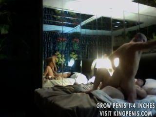 Sexo en la habitación del hotel