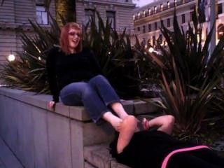 Adoración de los pies apestosos