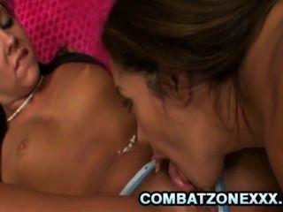 Francesca le e hiedra inviernos dos babas deliciosas teniendo sexo lesbiana