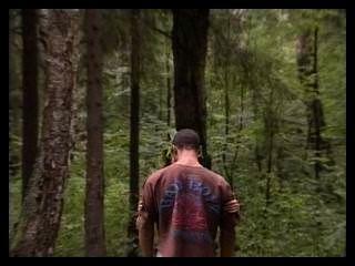 Pareja rusa en el bosque