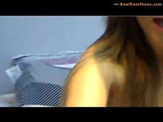 Striptease por sexy amateur en la cámara