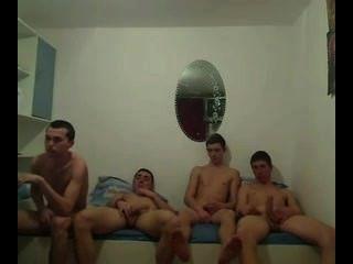 Grupo de adolescentes calientes