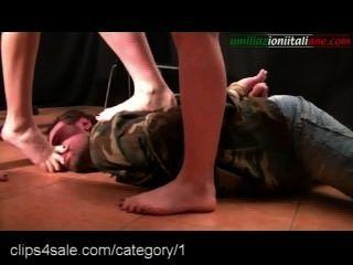 Cargas de acción de fetiche de pie en clips4sale.com