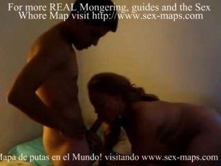 Prostituta cubana garchando