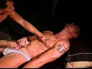 Cbt colgó muscular stud golpear el dúo.