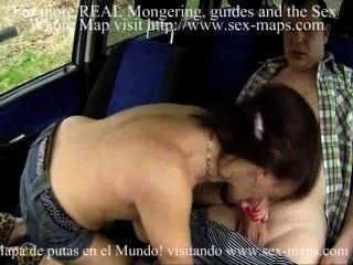 Prostituta tchèque milf follada en el coche