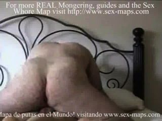 Puta hace anal con un turista